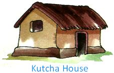 Kutcha Houses
