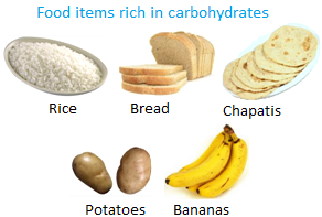 Food items Rich in Carbohydrates